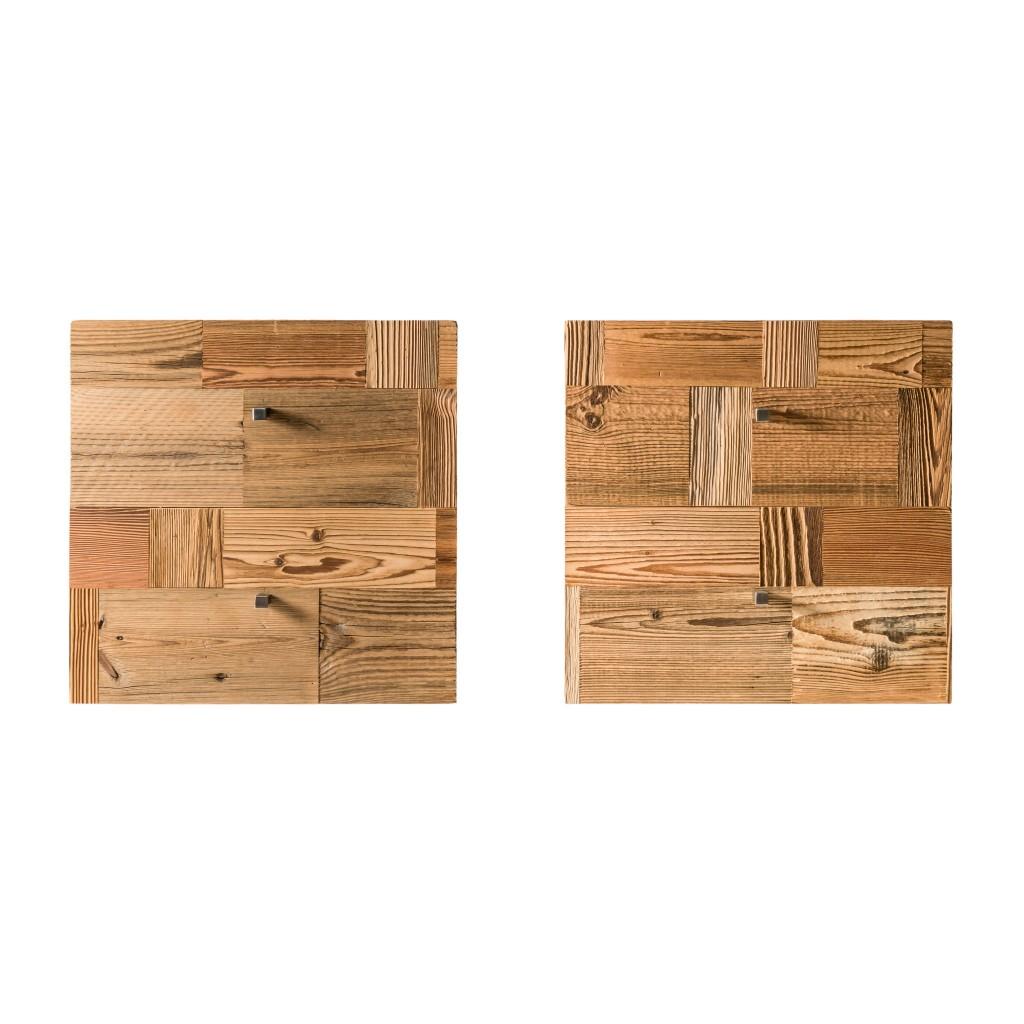 <p>I cubi d'arredo rispondono ai canoni di design contemporaneo ed esercitano una doppia funzione: ornamento e complemento d'arredo. Questo cubo è formato da quadrati di legno naturale e si differenzia per il colore caldo: merito dei raggi del sole che sulle Dolomiti splendono per gran parte dell'anno. La parola Pestuze in dialetto ampezzano significa pezzetti. [&hellip;]</p>